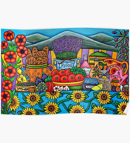 Flavours of Provence Poster