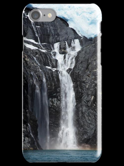 i Alaskan Falls by Gary L   Suddath