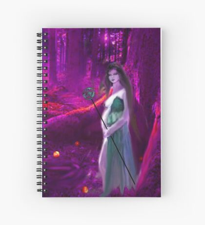 The Empress Spiral Notebook