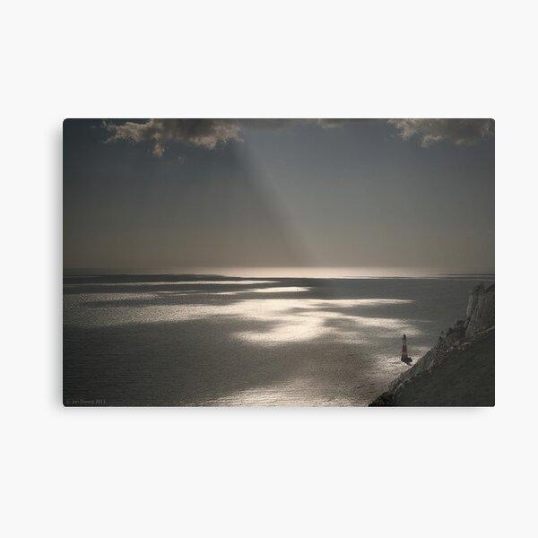 Beachy Head lighthouse Metal Print