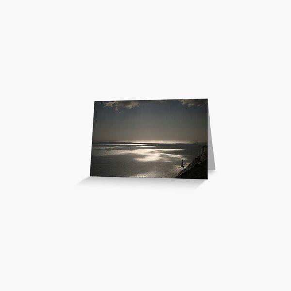 Beachy Head lighthouse Greeting Card