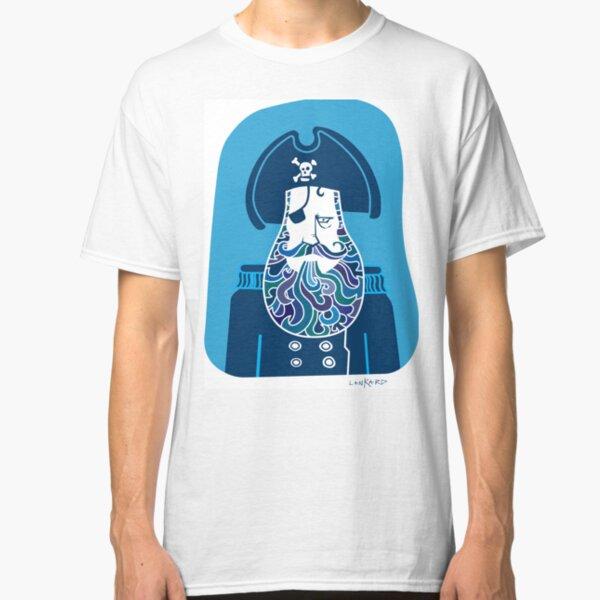 Captain Blue Beard Classic T-Shirt