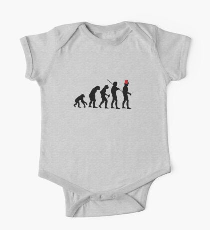 Evolution of the Time Lord - Light Colors Kids Clothes