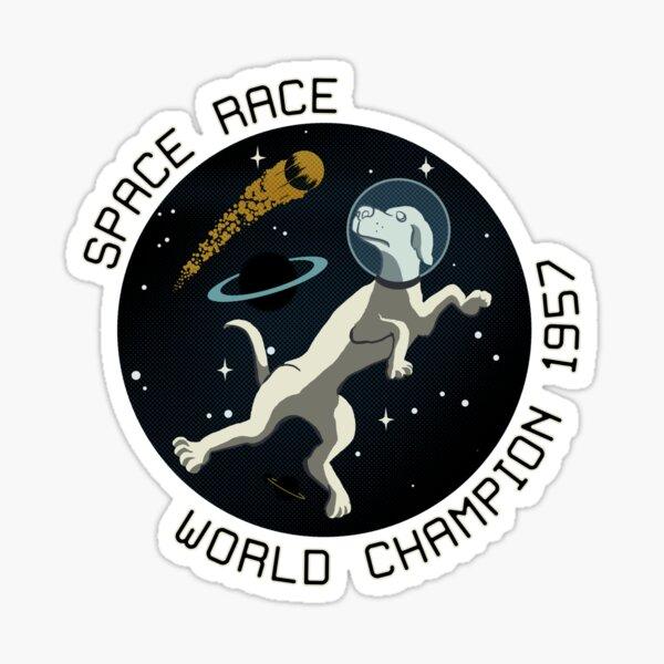 Space Race World Champion 1957 Sticker