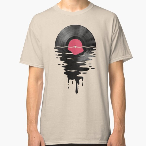 Vinyl LP Record Sunset Classic T-Shirt