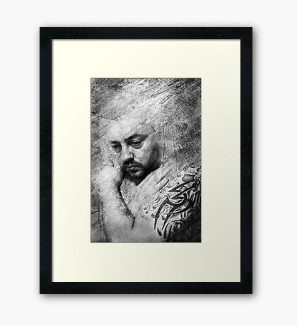 Baby Can I Hold You Framed Print