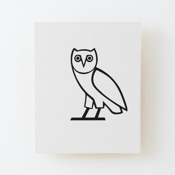 Ovo Owl Wall Art Redbubble