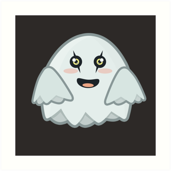 Kawaii Ghost by NirPerel