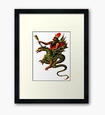 Wyrm Rider Framed Print