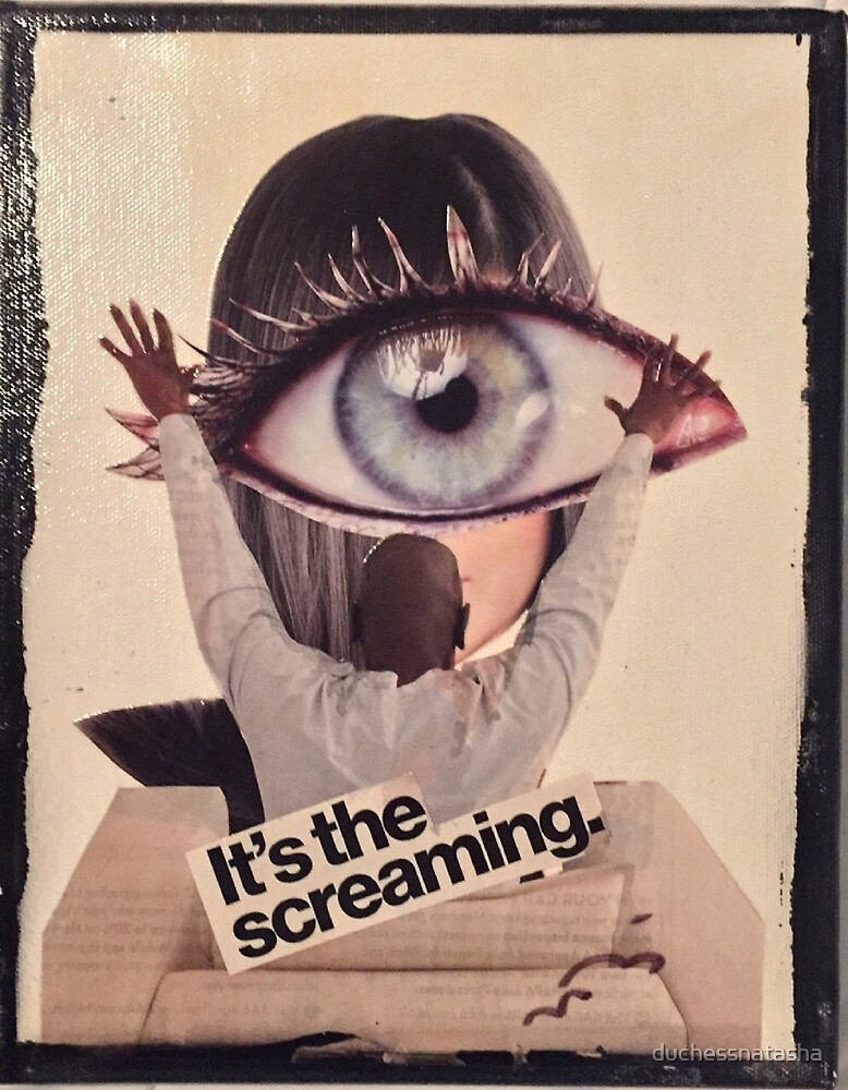 It's The Screaming by duchessnatasha