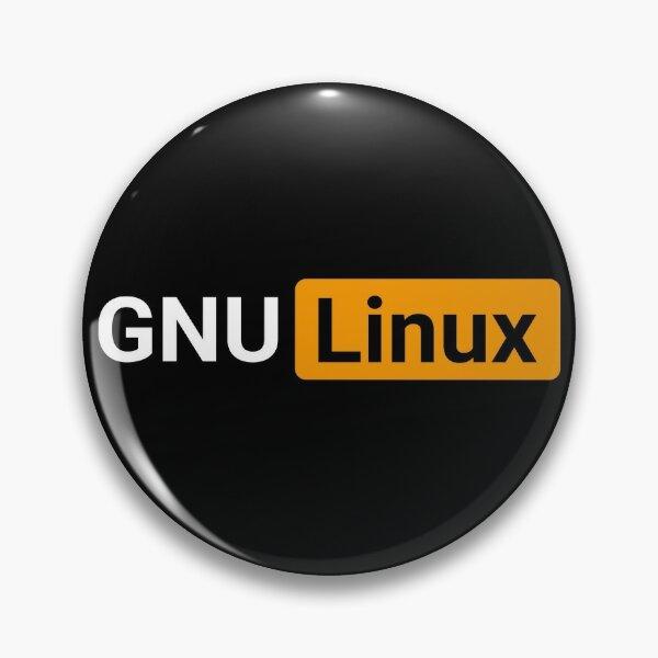 Naughty GNU Linux Pin