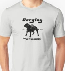 Dangles - Dogs With Handles Unisex T-Shirt