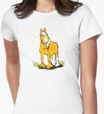Welsh B pony tee Women's Fitted T-Shirt