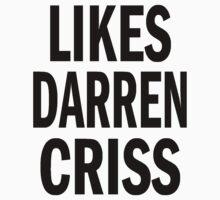 Likes Darren Criss