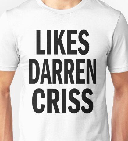 Likes Darren Criss Unisex T-Shirt