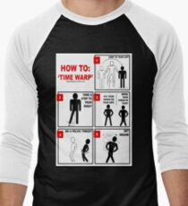Rocky Horror Picture Show Time Warp Men's Baseball ¾ T-Shirt