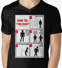 Rocky Horror Picture Show Time Warp Men's V-Neck T-Shirt
