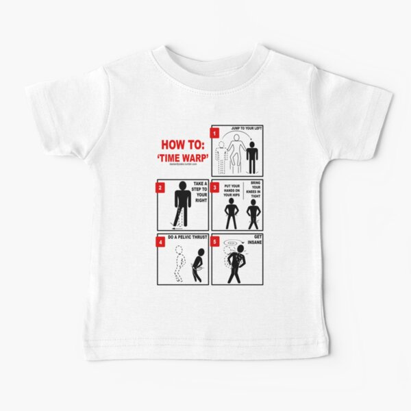 Rocky Horror Picture Show Time Warp Baby T-Shirt