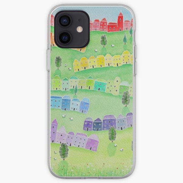 """Rainbow Hill"" iPhone Soft Case"
