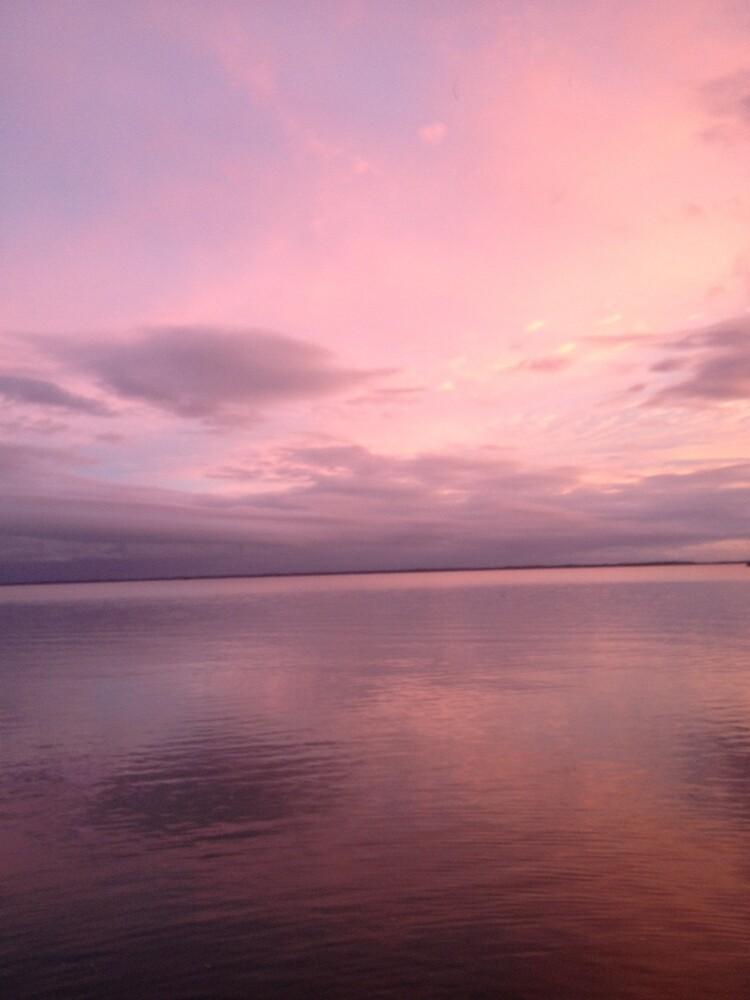 Sunset - Pink by Gleefulbeast