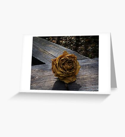 Twilight Rose Greeting Card