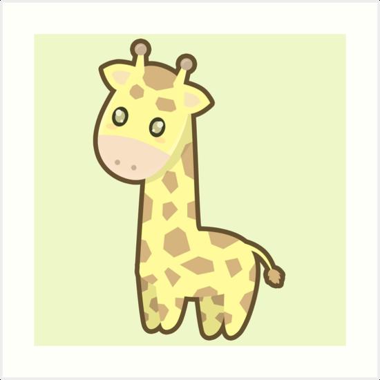 Kawaii Giraffe by NirPerel