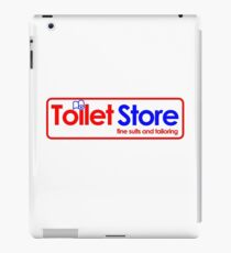 Toilet Store: Fine Suits and Tailoring iPad Case/Skin