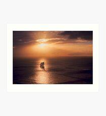 Sunset Cruiser Art Print