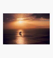 Sunset Cruiser Photographic Print