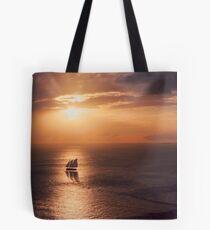 Sunset Cruiser Tote Bag