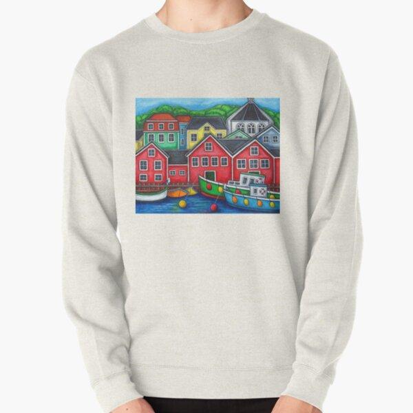 Colours of Lunenburg, Nova Scotia Pullover Sweatshirt