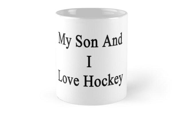 My Son And I Love Hockey by supernova23
