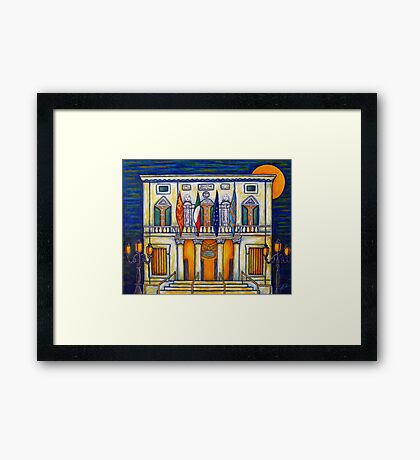 A Night at the Fenice Framed Print