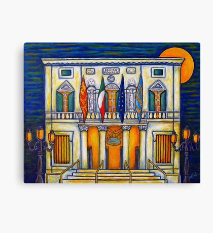 A Night at the Fenice Canvas Print