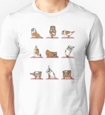 English Bulldog Yoga T-Shirt