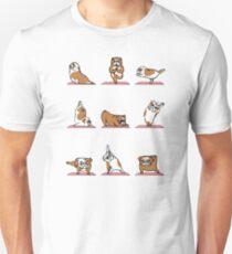 English Bulldog Yoga Unisex T-Shirt