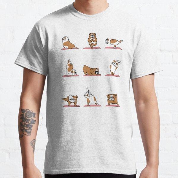English Bulldog Yoga Classic T-Shirt