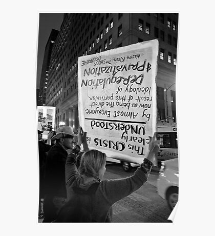 Untitled (OWS Chicago) Poster