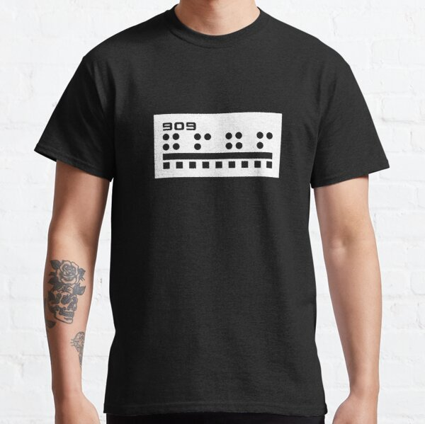 909 (white print) Classic T-Shirt