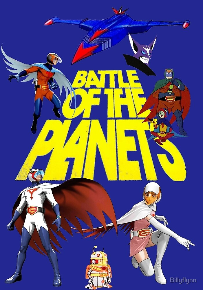 Battle of the Planets by Billyflynn