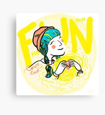 fun-love-sun Canvas Print