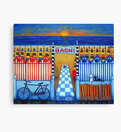 An Italian Summer's End Canvas Print