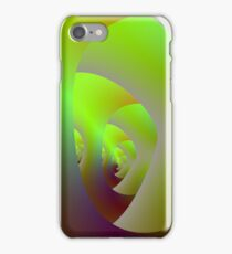 Green Labyrinth iPhone Case/Skin