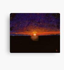 Cosmic Love #2 Canvas Print