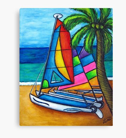 Colourful Hobby Canvas Print