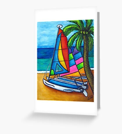 Colourful Hobby Greeting Card