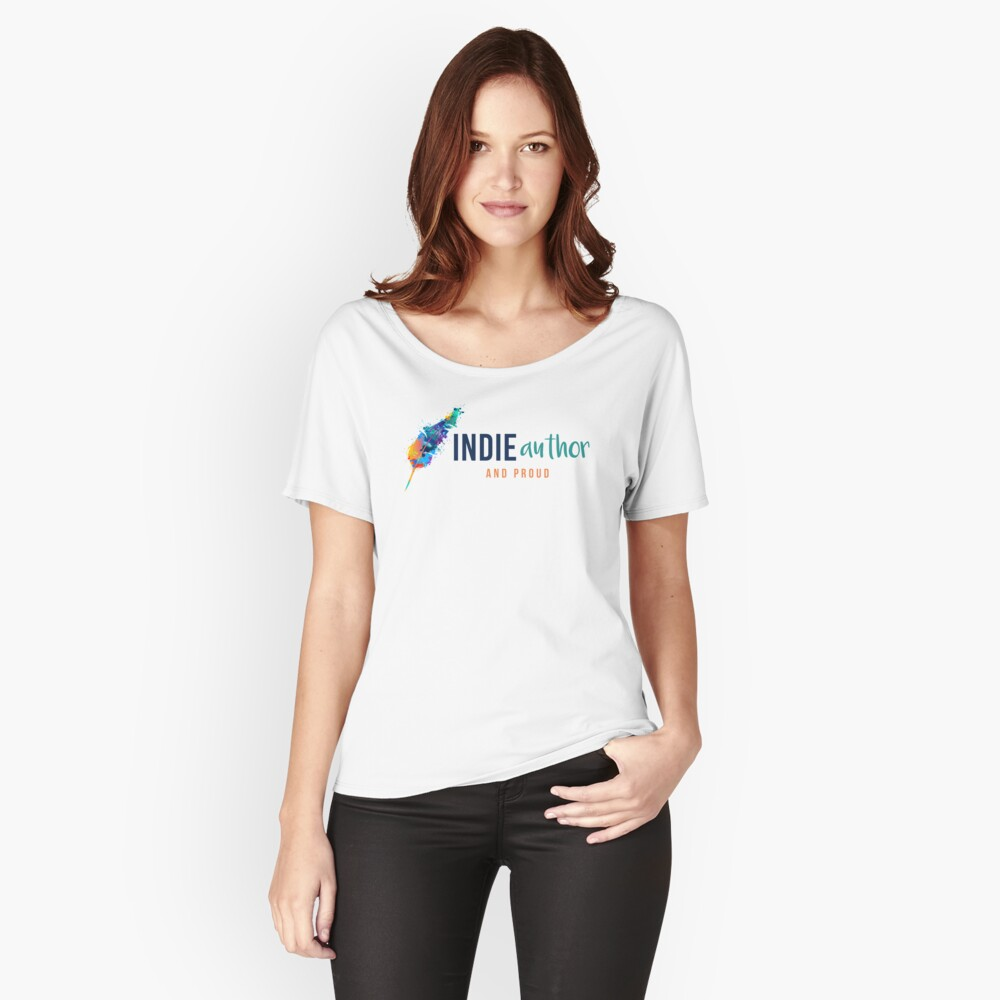 Indie Author and Proud Relaxed Fit T-Shirt