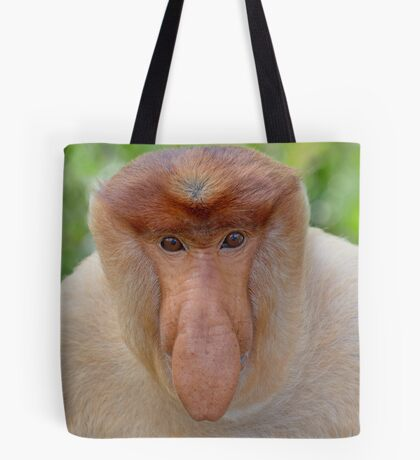Proboscis Monkey - Nasalis larvatus Tote Bag