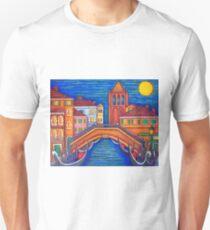 Moonlit Campo San Barnaba Unisex T-Shirt