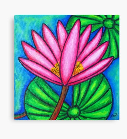 Pink Gem 3 Canvas Print